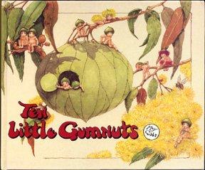 9780207167379: Ten Little Gumnuts (Angus & Robertson Books)