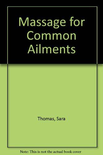9780207171376: Massage for Common Ailments