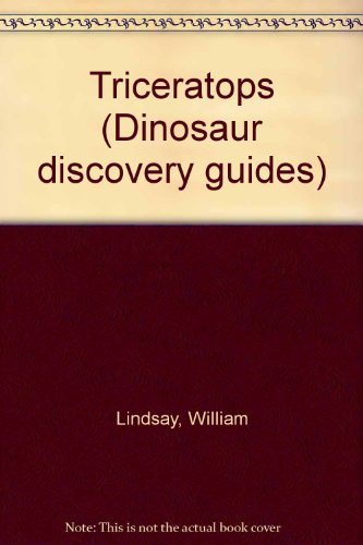 9780207177347: Triceratops (Dinosaur discovery guides)