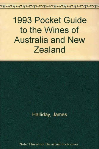 9780207177651: 1993 Pocket Guide to the Wines of Australia and New Zealand