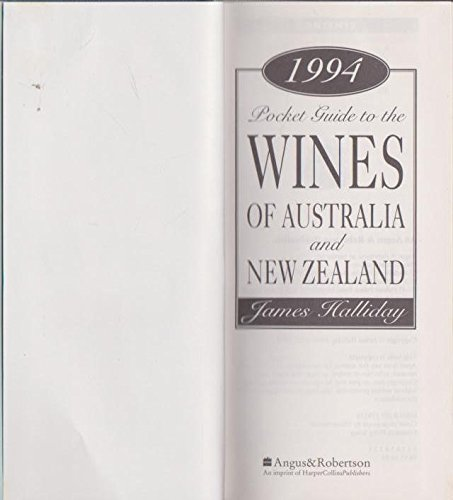 1994 Pocket Guides to the Wines of Australia and New Zealand