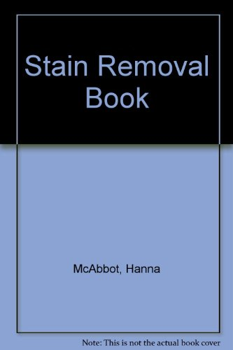 9780207183133: Stain Removal Book