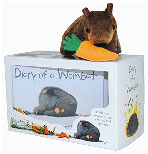 9780207200816: Diary of a Wombat: Boxed Set: Mini-Edition + Soft Toy