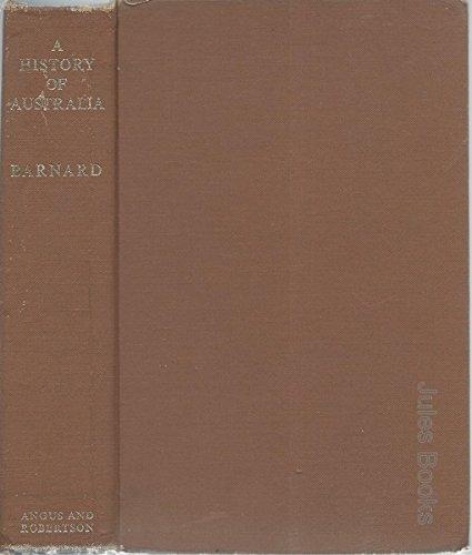 9780207940651: A HISTORY OF AUSTRALIA