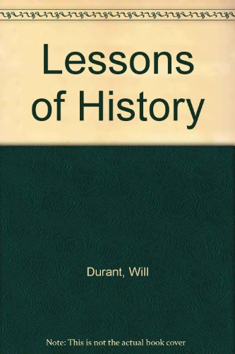 9780207952302: Lessons of History