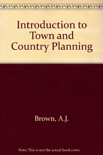 9780207952487: Introduction to Town and Country Planning