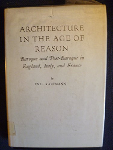 9780208002501: Architecture in the Age of Reason