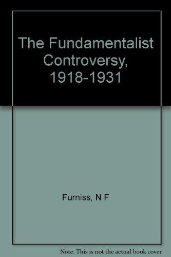 9780208004444: Fundamentalist Controversy, 1918-1931