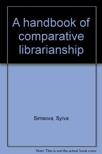 A Handbook of Comparative Librarianship