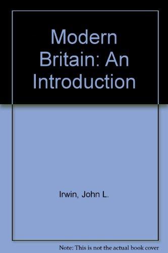 9780208016188: Modern Britain: An Introduction