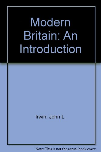 9780208016188: Modern Britain: An Introduction