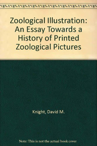 9780208017208: Zoological Illustration: An Essay Towards a History of Printed Zoological Pictures