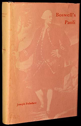 Boswell's Paoli: Foladare, Joseph