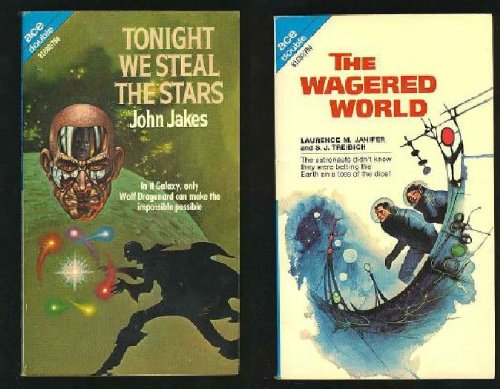 9780208168009: Tonight We Steal the Stars / The Wagered World (Ace Double, 81680)