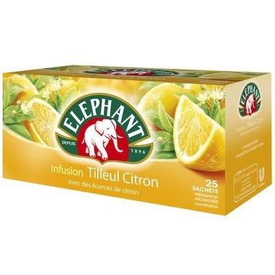 9780208252364: Elephant - Infusion tilleul et citron - 25 sachets