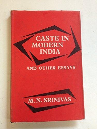 Caste in Modern India: M.N. Srinivas