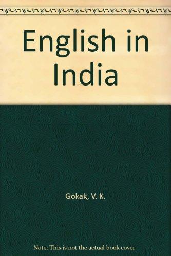 gokak v k - english india present future - AbeBooks