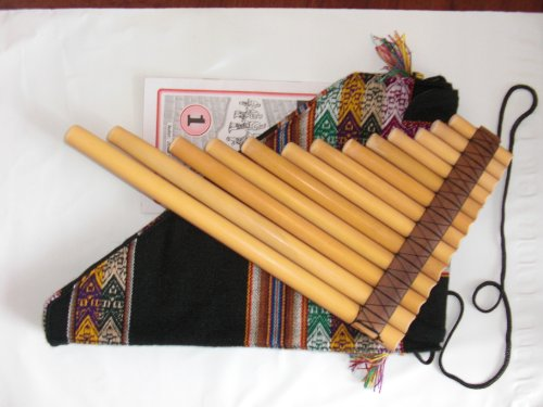 9780212004119: panpipes 13 pipes, professional with cover , method and scores