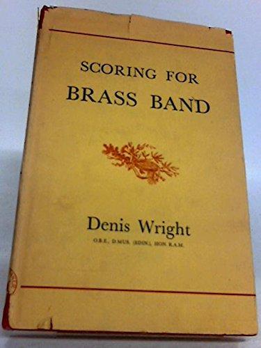 9780212358304: Scoring for Brass Band