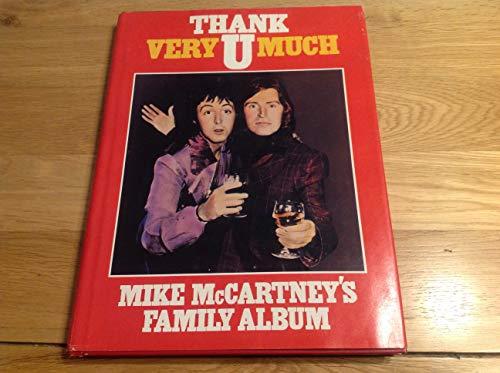 9780213168162: Thank U Very Much: Mike McCartney's Family Album