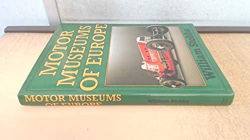 9780213168438: Motor Museums of Europe