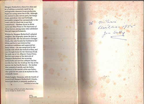 9780213168902: Margaret Rutherford: A Blithe Spirit