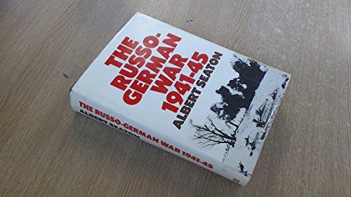 9780213764784: Russo-German War, 1941-45