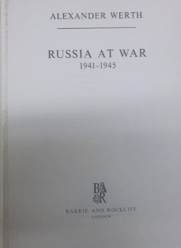 9780214157387: Russia at War, 1941-45