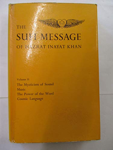 9780214157691: The Sufi Message of Hazrat Inayat Khan, Vol. 2