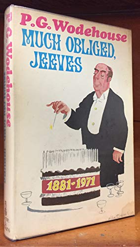 Much Obliged, Jeeves: Wodehouse, P.G.