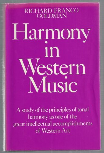 9780214666803: Harmony in Western Music