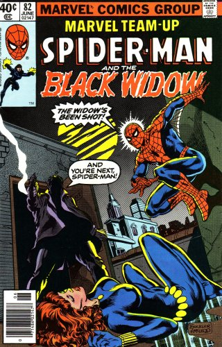 9780214740824 Marvel Team Up Spiderman And The Black Widow