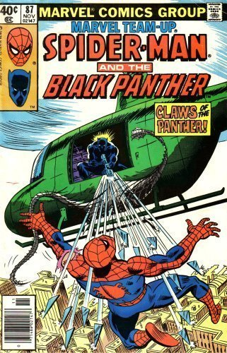 9780214740879: Marvel Team-up: Spiderman and the Black Panther: Claws of the Panther! (0714860214711, Vol. 1, No. 87, November 1979)