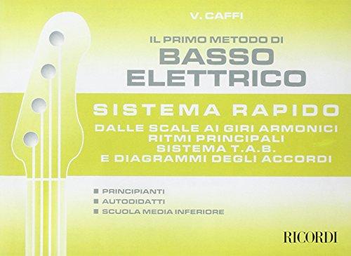 9780215104687: IL PRIMO METODO DI BASSO ELETTRICO