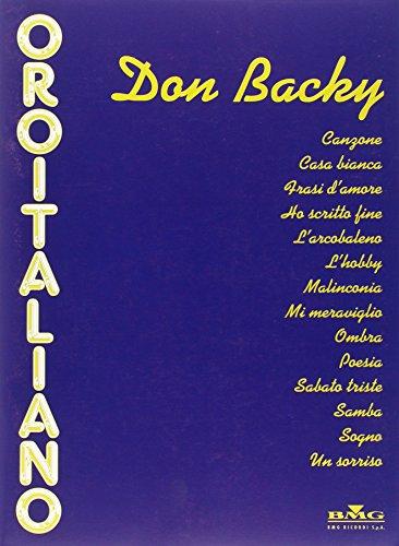 9780215105004: Don Backy