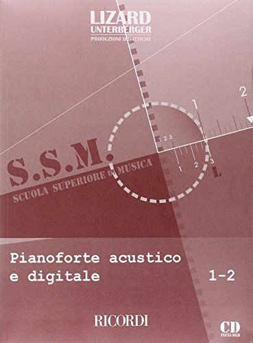 9780215107275: PIANOFORTE ACUSTICO E DIGITALE - VOL. 1-2