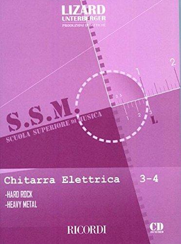 9780215107305: CHITARRA ELETTRICA: HARD ROCK E HEAVY METAL - VOL. 3-4