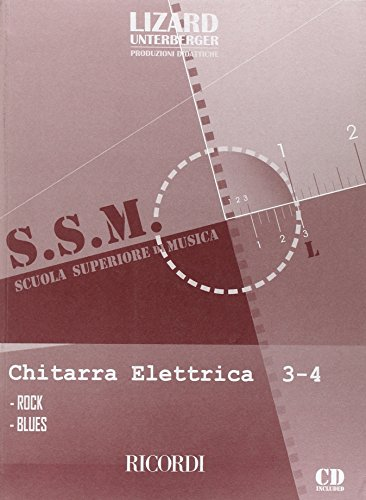 9780215107336: Chitarra Elettrica: Rock E Blues - Vol. 3-4