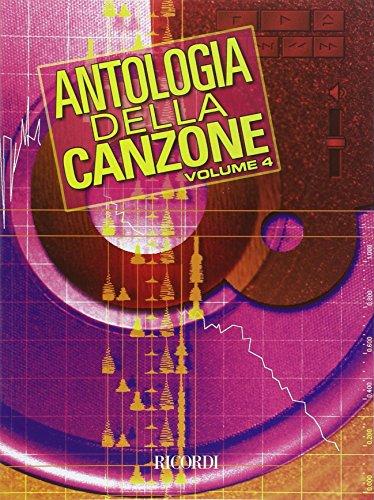 9780215107817: ANTOLOGIA DELLA CANZONE