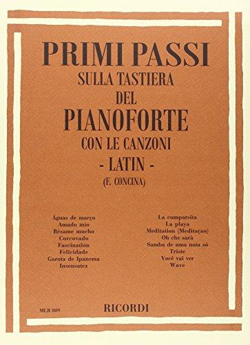 9780215108098: Primi Passi Sulla Tastiera Del Pianoforte: Latin