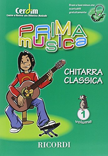 9780215108500: PRIMAMUSICA: CHITARRA CLASSICA VOL.1