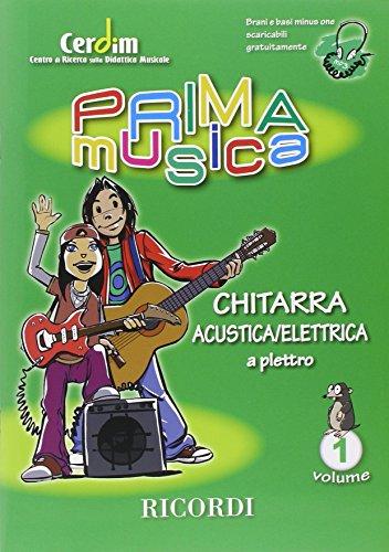 9780215108531: Primamusica: chitarra acustica/elettrica 1 guitare
