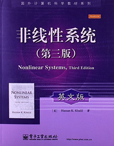 9780215425645: Nonlinear Systems (3rd English Edition)