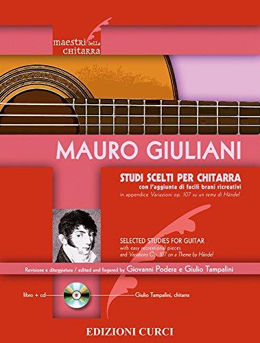 9780215903921: Giuliani: Studi Scelti per Chitarra (Selected Studies for Guitar)