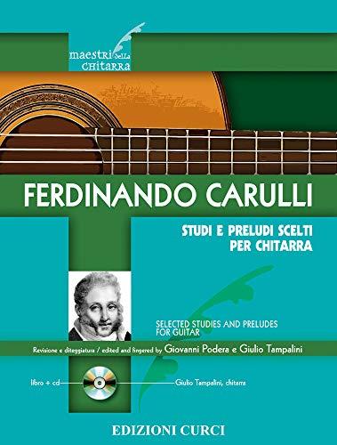 9780215904300: Carulli: Studi e Preludi Scelti per Chitarra (Guitar Studies)