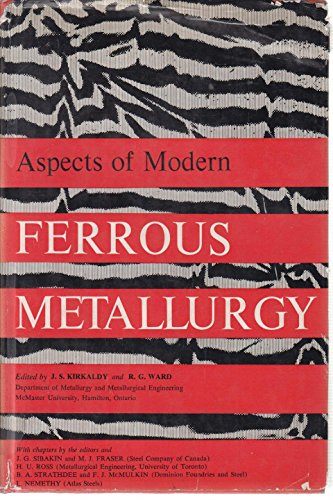 9780216873612: Aspects of Modern Ferrous Metallurgy