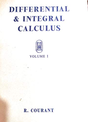 9780216873902: Differential and Integral Calculus, Vol. 1