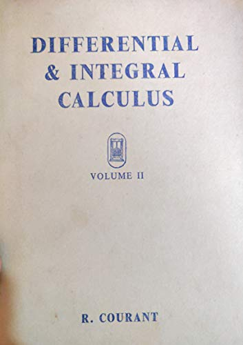 9780216873919: Differential and Integral Calculus: v. 2