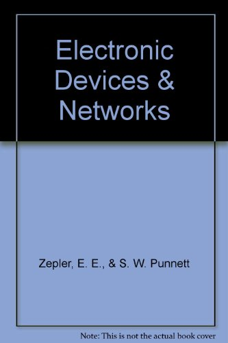 9780216874763: Electronic Devices and Networks (Electronic User)