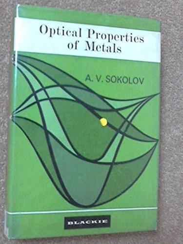 9780216888609: Optical Properties of Metals